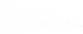 Faerber and Anderson Personal Injury Attorney Logo